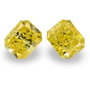 Камень без оправы, бриллиант Цвет: Желтый, Вес: 4.08 карат
