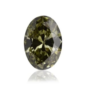 Камень без оправы, бриллиант Цвет: Хамелеон, Вес: 0.50 карат
