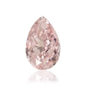 Камень без оправы, бриллиант Цвет: Розовый, Вес: 0.31 карат