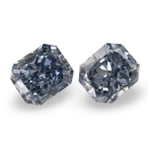 Камень без оправы, бриллиант Цвет: Голубой, Вес: 0.60 карат
