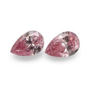 Камень без оправы, бриллиант Цвет: Розовый, Вес: 0.17 карат