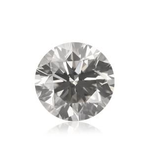 Камень без оправы, бриллиант Цвет: Серый, Вес: 1.70 карат