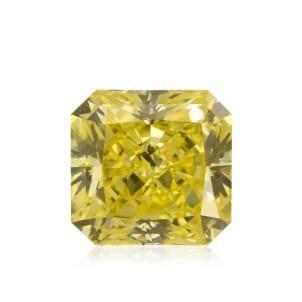 Камень без оправы, бриллиант Цвет: Желтый, Вес: 1.20 карат