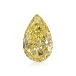 Камень без оправы, бриллиант Цвет: Желтый, Вес: 1.18 карат