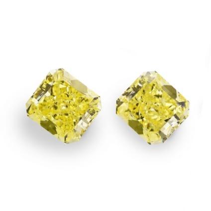 Камень без оправы, бриллиант Цвет: Желтый, Вес: 6.29 карат