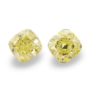 Камень без оправы, бриллиант Цвет: Желтый, Вес: 2.26 карат