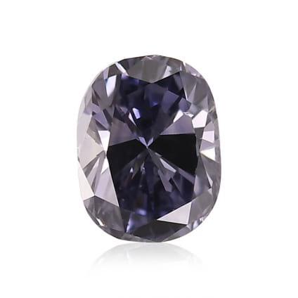 Камень без оправы, бриллиант Цвет: Фиолетовый, Вес: 0.30 карат