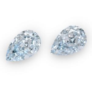 Камень без оправы, бриллиант Цвет: Голубой, Вес: 6.37 карат