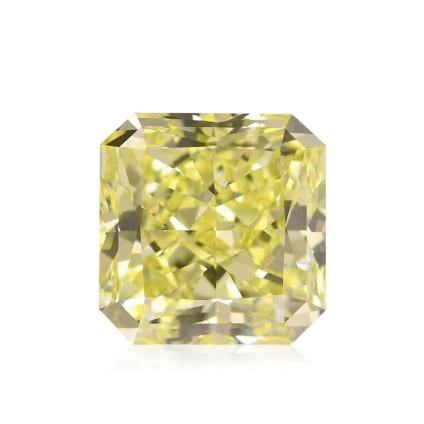 Камень без оправы, бриллиант Цвет: Желтый, Вес: 5.09 карат