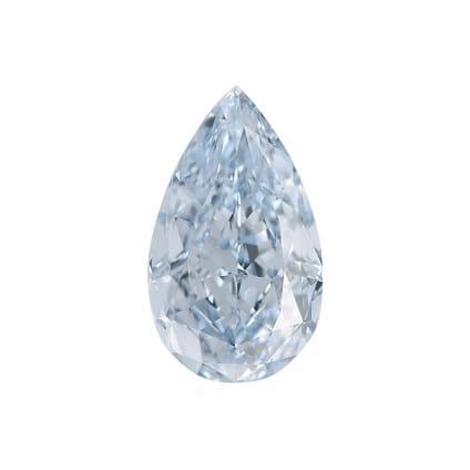 Камень без оправы, бриллиант Цвет: Голубой, Вес: 1.63 карат