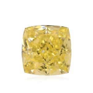 Камень без оправы, бриллиант Цвет: Желтый, Вес: 1.06 карат