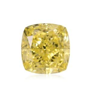 Камень без оправы, бриллиант Цвет: Желтый, Вес: 1.16 карат