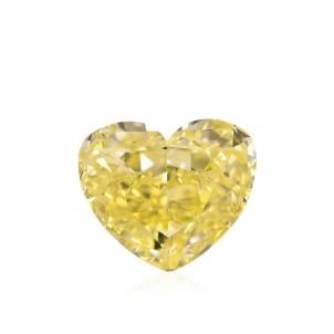 Камень без оправы, бриллиант Цвет: Желтый, Вес: 2.32 карат