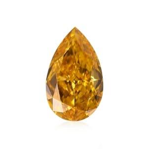 Камень без оправы, бриллиант Цвет: Оранжевый, Вес: 0.54 карат
