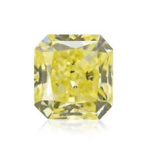 Камень без оправы, бриллиант Цвет: Желтый, Вес: 0.36 карат