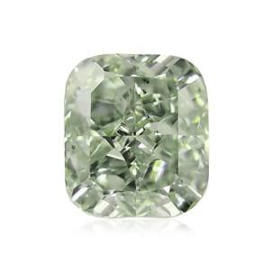 Камень без оправы, бриллиант Цвет: Зеленый, Вес: 0.45 карат