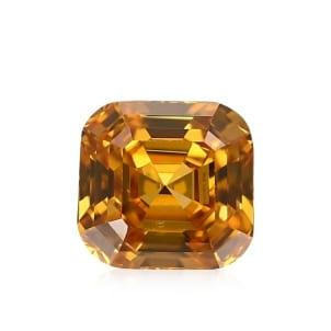 Камень без оправы, бриллиант Цвет: Оранжевый, Вес: 0.56 карат