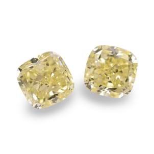 Камень без оправы, бриллиант Цвет: Желтый, Вес: 3.35 карат