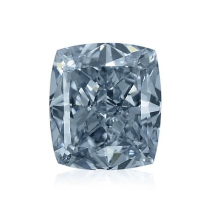 Камень без оправы, бриллиант Цвет: Голубой, Вес: 0.67 карат