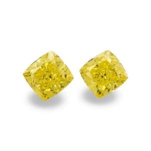 Камень без оправы, бриллиант Цвет: Желтый, Вес: 1.17 карат