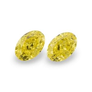Камень без оправы, бриллиант Цвет: Желтый, Вес: 1.27 карат