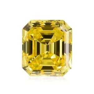 Камень без оправы, бриллиант Цвет: Желтый, Вес: 1.51 карат