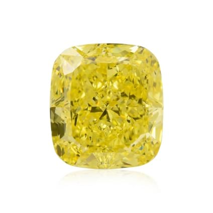 Камень без оправы, бриллиант Цвет: Желтый, Вес: 9.86 карат