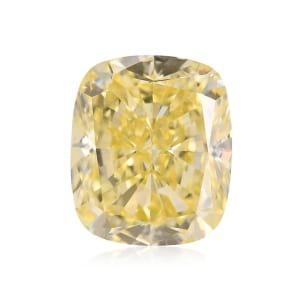Камень без оправы, бриллиант Цвет: Желтый, Вес: 3.17 карат