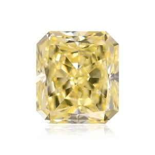 Камень без оправы, бриллиант Цвет: Желтый, Вес: 2.18 карат