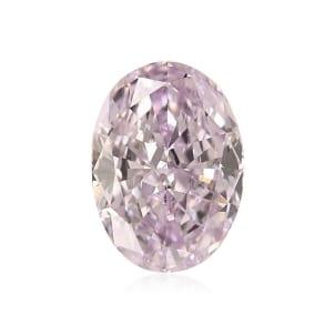 Камень без оправы, бриллиант Цвет: Пурпурный, Вес: 0.43 карат