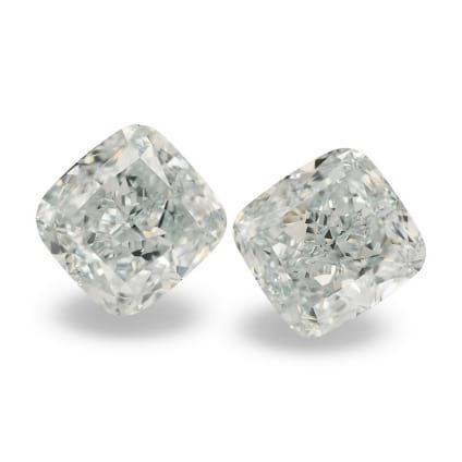 Камень без оправы, бриллиант Цвет: Зеленый, Вес: 4.38 карат