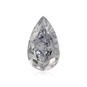 Камень без оправы, бриллиант Цвет: Голубой, Вес: 0.35 карат