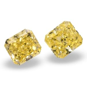Камень без оправы, бриллиант Цвет: Желтый, Вес: 3.04 карат