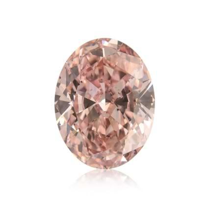 Камень без оправы, бриллиант Цвет: Розовый, Вес: 0.65 карат