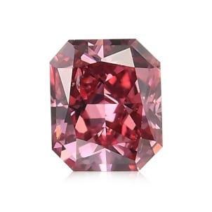 Камень без оправы, бриллиант Цвет: Розовый, Вес: 0.18 карат