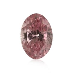 Камень без оправы, бриллиант Цвет: Розовый, Вес: 0.22 карат