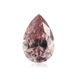Камень без оправы, бриллиант Цвет: Розовый, Вес: 0.16 карат