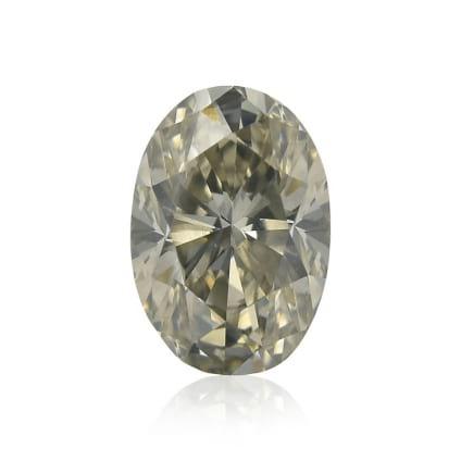 Камень без оправы, бриллиант Цвет: Серый, Вес: 0.64 карат