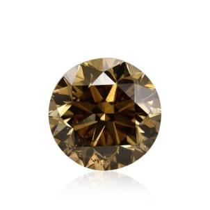 Камень без оправы, бриллиант Цвет: Коричневый, Вес: 2.50 карат