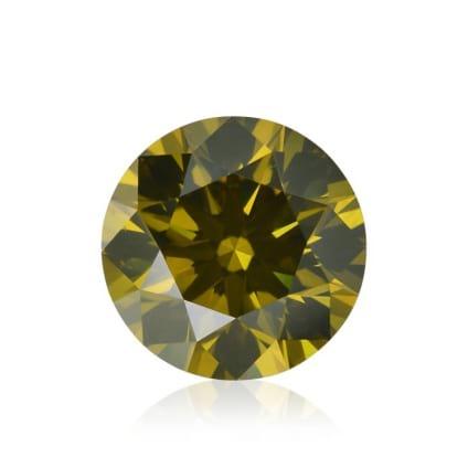 Камень без оправы, бриллиант Цвет: Желтый, Вес: 0.72 карат