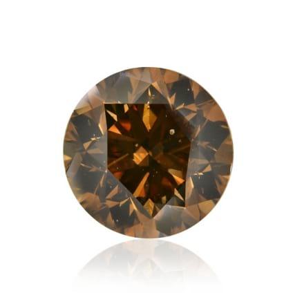 Камень без оправы, бриллиант Цвет: Коричневый, Вес: 1.56 карат