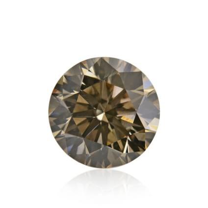 Камень без оправы, бриллиант Цвет: Коричневый, Вес: 2.13 карат