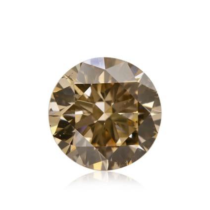 Камень без оправы, бриллиант Цвет: Коричневый, Вес: 2.02 карат