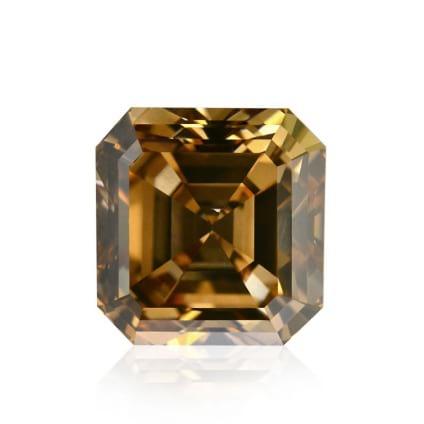 Камень без оправы, бриллиант Цвет: Коричневый, Вес: 3.04 карат