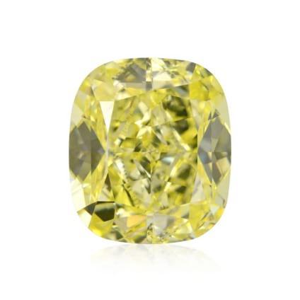 Камень без оправы, бриллиант Цвет: Желтый, Вес: 2.01 карат