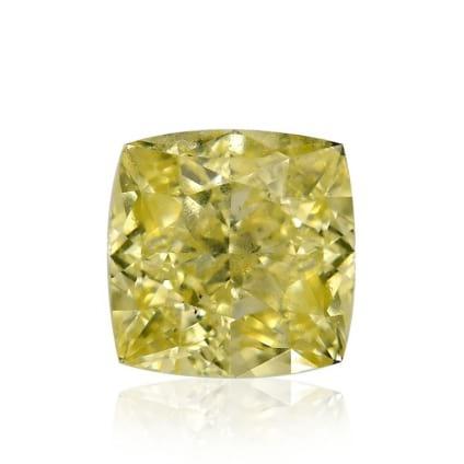 Камень без оправы, бриллиант Цвет: Желтый, Вес: 0.45 карат