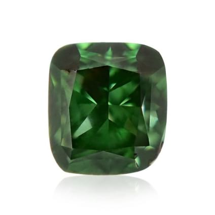 Камень без оправы, бриллиант Цвет: Зеленый, Вес: 0.17 карат