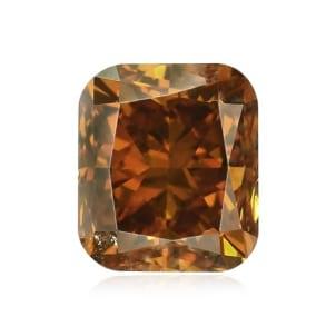 Камень без оправы, бриллиант Цвет: Оранжевый, Вес: 0.51 карат