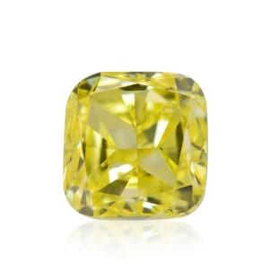 Камень без оправы, бриллиант Цвет: Желтый, Вес: 0.39 карат