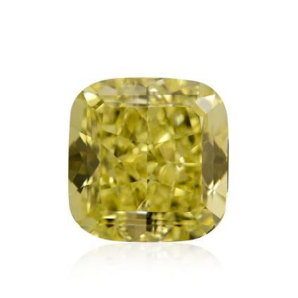 Камень без оправы, бриллиант Цвет: Желтый, Вес: 1.04 карат
